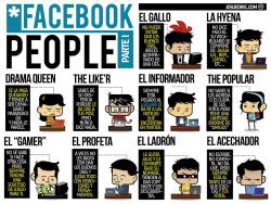Facebook People Parte I by josuedric