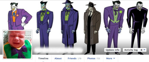 My current facebook profile