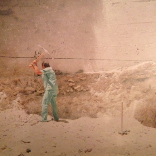 So my Dad volunteered with @tearfund in 1977 doing some construction work at a hospital in #Israel. The man in the pic was the doctor in charge & this is how he spent his lunchtime. If only we had more like him in the medical profession to today - legend.
