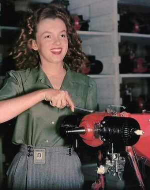 Marilyn Monroe before she had an alter ego…I guess Blondes do have more fun! !!