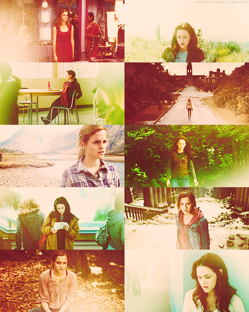 screencap memehermione granger & bella swan → the space