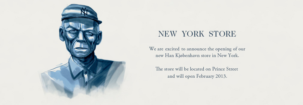 Han Kjøbenhavn New York store to open February 2013