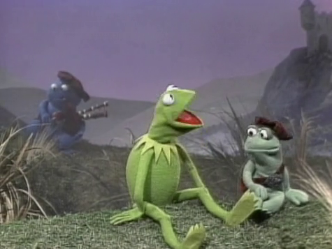 For Bagpipe Appreciation Day (which is today, as you must have known), why not celebrate with Kermit the Frog singing a song from his apparent Scottish childhood.