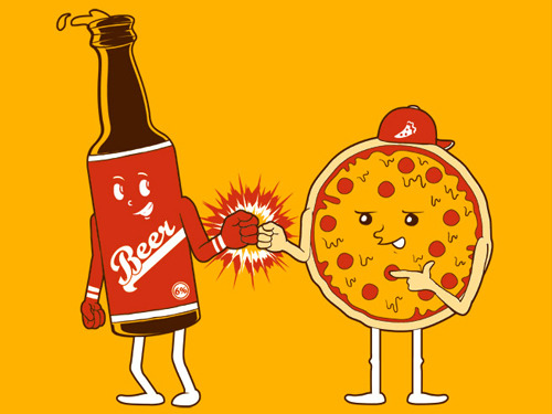 hellogiggles:  EVERYBODY'S DRUNK PIZZA STORY by Bobby Box http://bit.ly/17Dyyea