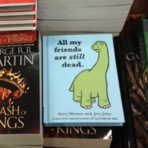 Oh hi there. #allmyfriendsaredead #book #insiders