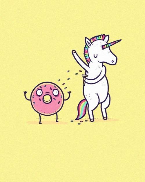 inallthecomics:  How donuts get their sprinkles.