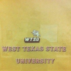 Just finished graduating from WTAMU.. Old sticker from before they changed to an A&M school. Now can I go work on my hot rod?