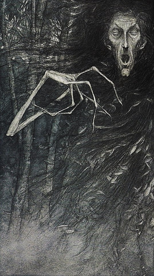 "chedisagio:  Brian Froud and Alan Leeillustration for ""Faeries""© 1978 Henry N. Abrams New York"