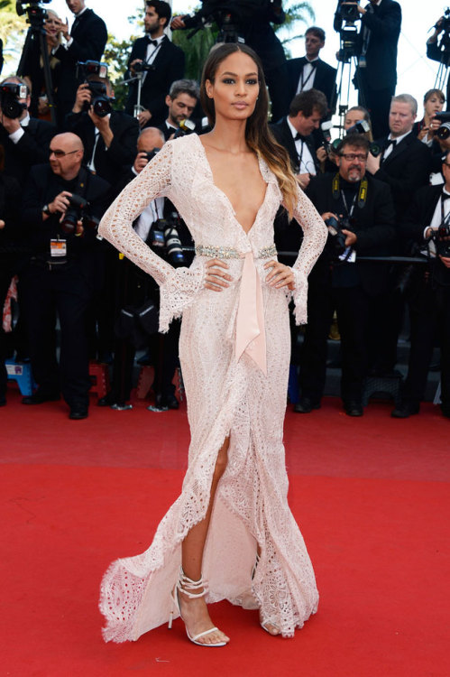 "Joan Smalls Wows in Emilio Pucci at the ""Cleopatra"" Premiere at Cannes"