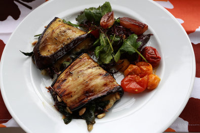 "NYT Recipe: Eggplant Wraps Try this with the white Bordeaux from today's offer: Lehoul Graves blanc 2011. Ansonia Post 5/9: ""Sauvignon Blanc, White Bordeaux"""