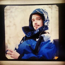 #TBT Hooded up inside my North Face. McCarren Pk Brooklyn 2003