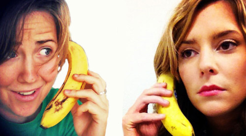 hartbig grace helbig hannah hart bringbackhartbig BUT WHERE THE THE GODDAMN BANANA COME FROM when i saw grace at vidcon she had three things with her: a bottle of water and a redbull and a BANANA my stuff