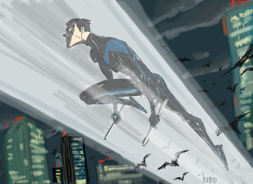 Nightwing by *BobbyRubio