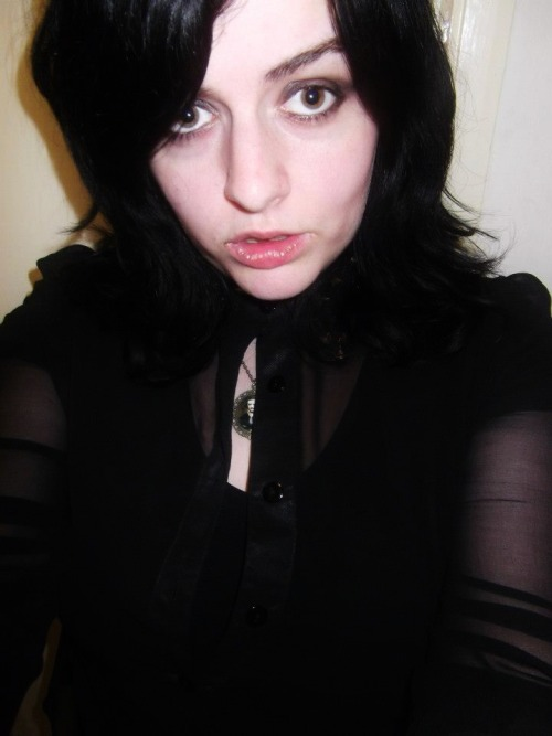 Here, have a photo of what I look like when I'm wasted. I look spectacularly gormless and the madness shines in my eyes.