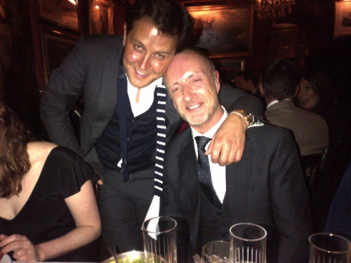 The Goop Dinner - Adam and Tom delicious boys. Sophia Neophitou Sophia Neophitou Editor In Chief 10 & 10 Men Magazines +44 207 434 0042