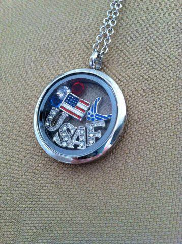 simplesimplicityoflife:  My locket is on it's way! But I didn't order any military charms yet. For a short time I want my necklace to be based off of my fiance and I's relationship :)