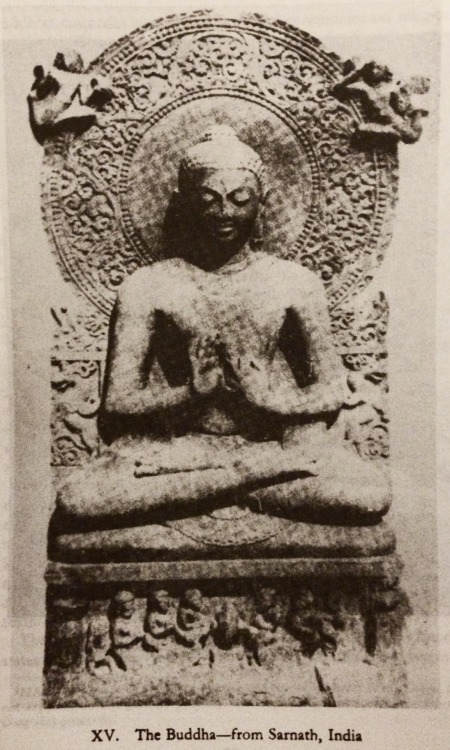 "shantiwinds:  The Buddha - from Sarnath, India From the book ""What the Buddha Taught"" by Walpola Rahula"