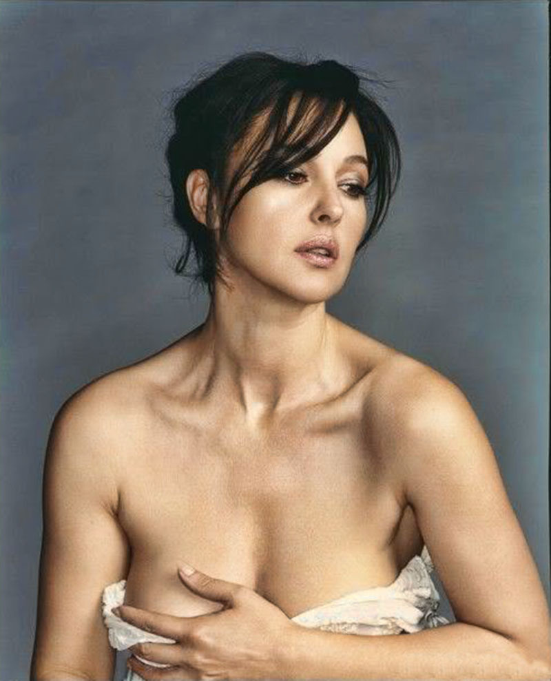 Monica Bellucci, por Bettina Rheims