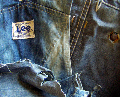 oddmodsarchive:  Lee House Mark Union Made Jelt Denim