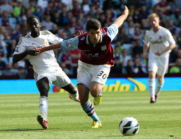 broken-shadow21:   Aston Villa vs Swansea City 2-2