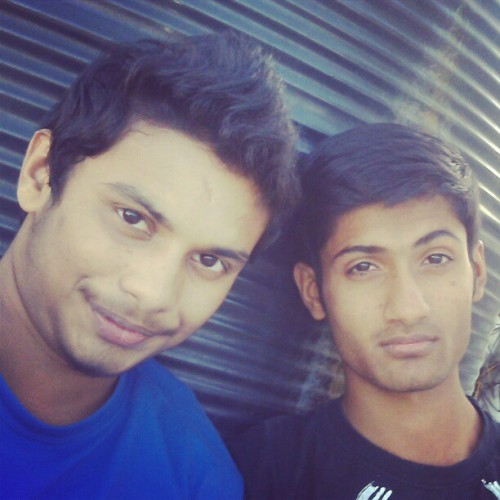 With @hemanshu17 #swag #instagram #amaro (at Chhatrapati Shivaji Terminus)