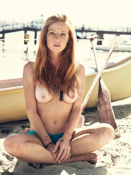 myfairladiess:  If you like redheads, freckles and pale ladies follow me HERE :)