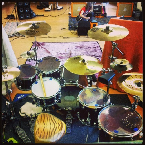 Today was a good day… #drums #tama #sabian #drummer #music #band