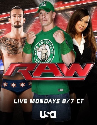 I'm watching WWE Raw                        4718 others are also watching.               WWE Raw on GetGlue.com