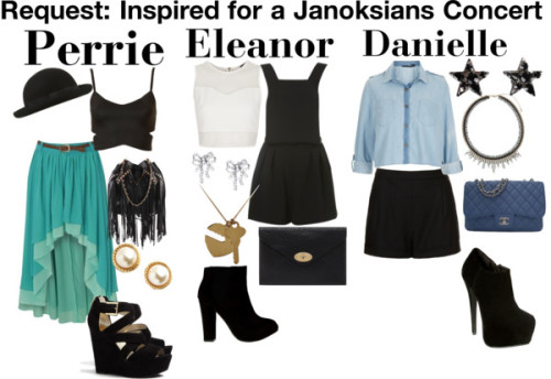 1dgirlfriendstylized:  Request: Inspired for a Janoksians Concert by lilylei  - Lei x