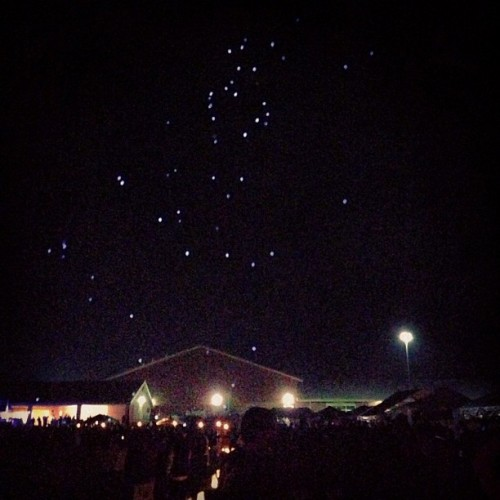 LED balloons at Relay for life.