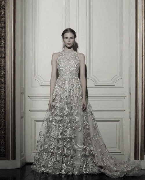 idreamofaworldofcouture:  Sasha Luss, wearing Valentino Haute Couture Spring/Summer 2013, photographed by Gian Paolo Barbieri for Vogue Italia March 2013