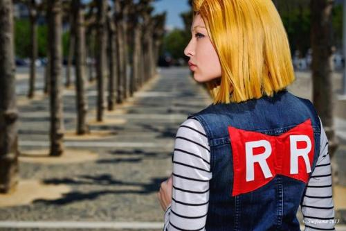 Android 18 by Roger Lee Photography   Model: Jojo Pandaface