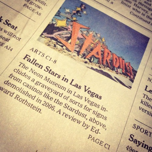 I've got to visit this place! #lasvegas #neonmuseum #roadtrip