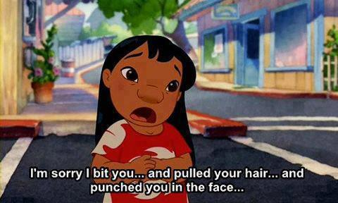 stephmariepink:  in-disney-we-trust:  Lilo  | via Tumblr on @weheartit.com - http://whrt.it/17MS8Yc  Sorry not sorry