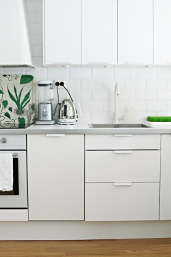 myidealhome:  white + green
