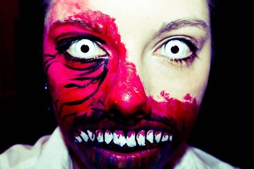 HELL IS EMPTY AND ALL THE DEVILS ARE HERE  #makeup #special effects #horror #evil