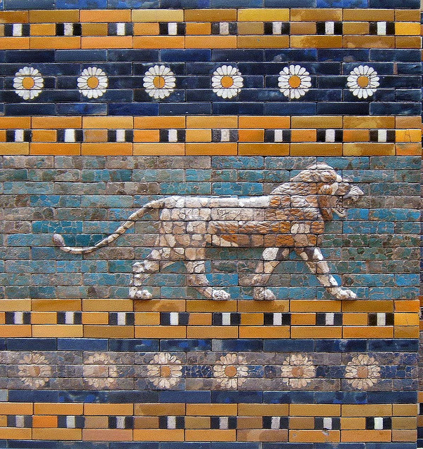 allmesopotamia:  t-a-h-i-t-i:  35 Ishtar Gate by Rictor Norton & David Allen on Flickr.  [Pergamon Museum, Berlin, Germany]