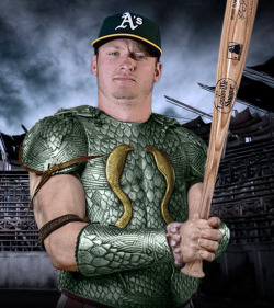 perezbros:  In honors of our favorite Athletics player Josh Donaldson!