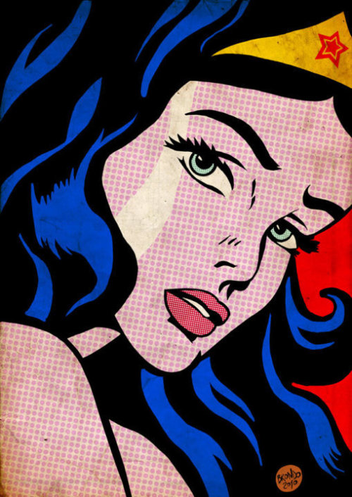 Wonder Lichtenstein by Nicolas Brondo