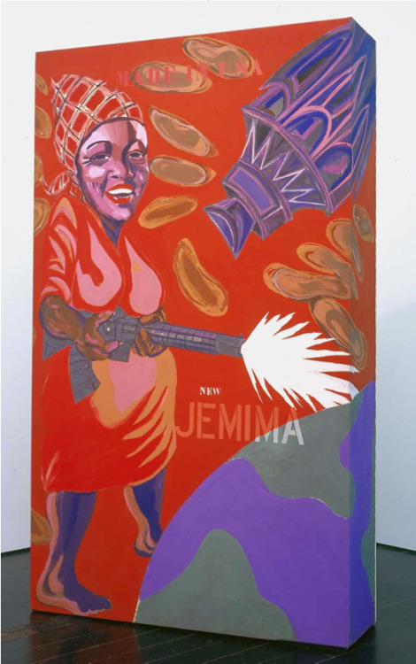 blackcontemporaryart:  Joe OverstreetThe New Jemima, 1964