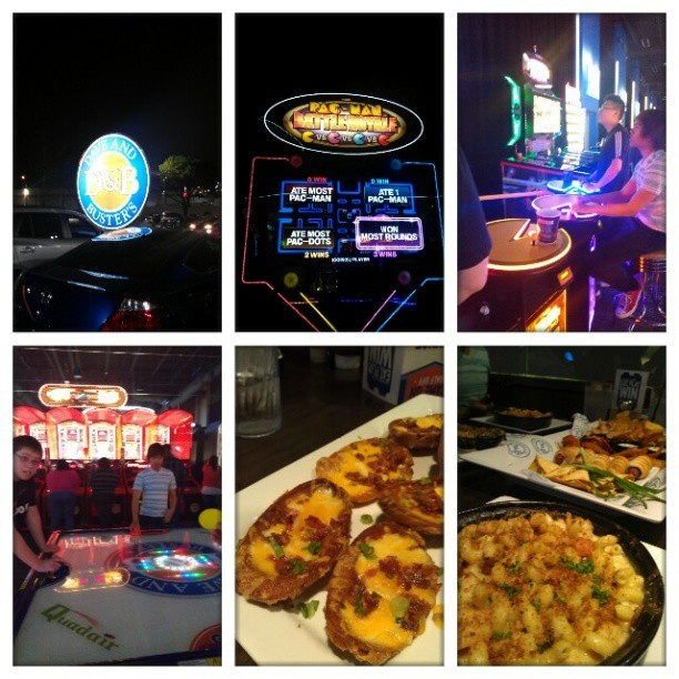 My night out #BNO #tommy #Stephen #Scott #4randochix (at Dave and Busters)