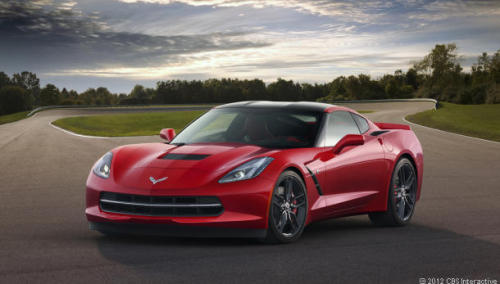 Say hello to the 2014 Corvette Stingray