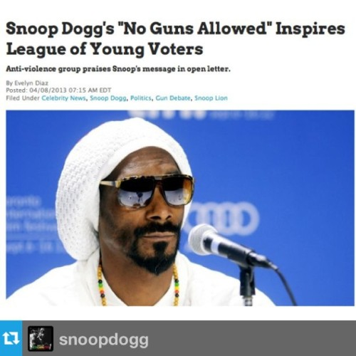 #Repost from @snoopdogg - thanks for the support! (cc: @betnetworks @snooplion)