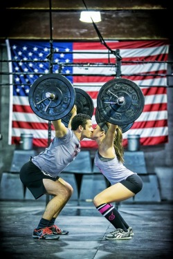 grudgemental:  If I did crossfit this would be us (but I don't, sorry baby)