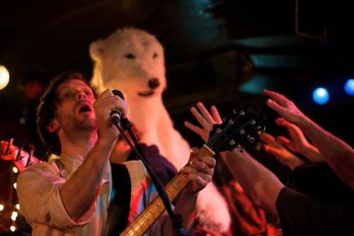 fromtheseatothelandbeyond:  British Sea Power / 100 Club, London / 3rd April, 2013