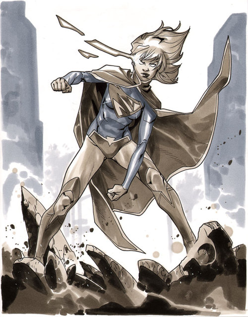 Supergirl - Comic Action Essen 2012 Pre-Show Commission