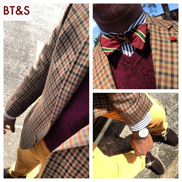Today's Work Duds: see more info on www.BowTiesAndSneakers.com tonight! #menswear #mensfashion #igfashion #menstyle #mensclothing #bowtie #bowties #wiwt #whatiworetoday #outfitoftheday #gq #fashion #blackfashion #styleambassadors #ootd #batonrouge #neworleans #lsu #su #xula #nola #tag4likes #ootnmagazine #bowtiesandsneakers