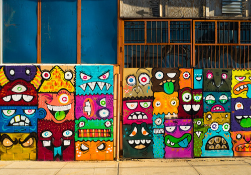 Faces, Bushwick, Brooklyn