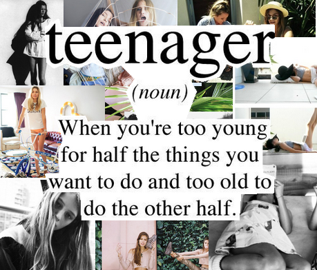 If you're a teen you must follow this blog.