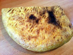 Piece of Cornbread – Traditional Romanian TURTA - Public Domain Photos, Free Images for Commercial Use